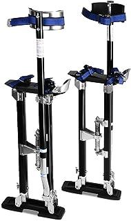 Goplus Drywall Stilts Drywall Lifts Aluminum Tool Stilt for Painting Painter Taping (24