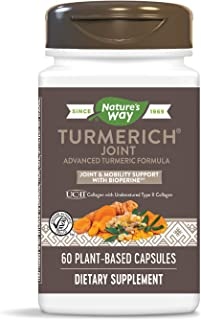 Nature's Way TurmeRich Joint Advanced Turmeric Formula, Joint & Mobility Support, 60 Count