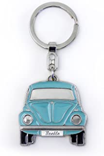 BRISA VW Collection - Volkswagen Classic Beetle Car Bug Key Ring Chain in Embossed Gift Tin, Gift Idea/Fan Souvenir/Retro ...