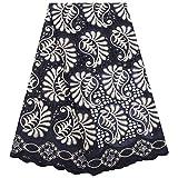 N\A Textilien Afrikanische Spitze Schweizer Baumwollspitze