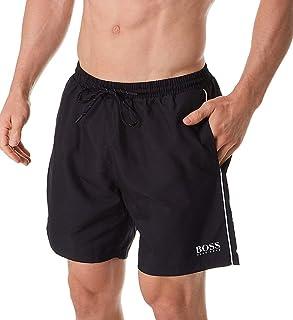 سروال سباحة رجالي متوسط الطول سريع الجفاف من Hugo Boss