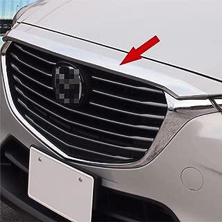 Fit for Mazda CX-3 2016 2017 2018 2019 Chrome Front Hood Bonnet Cover Trim