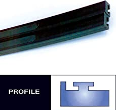 Profile #11 Teflon Slides - 52in. - Black 1973 Polaris Colt 295 Snowmobile
