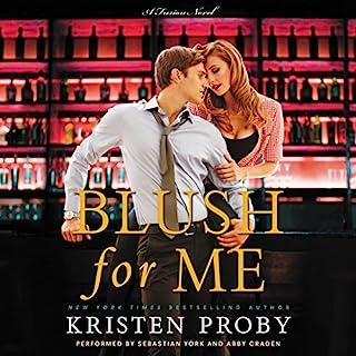 Blush for Me audiobook cover art