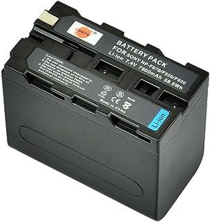 DSTE - Batería para cámaras Sony HVR-Z1 CCD-TRV36E CCD-TRV93 y CCD-TRV95 (ion de litio 72 V 7400 mAh)