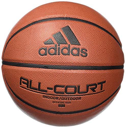 Adidas, Unisex-adult, All Court 2.0 Basketball, Top:Black/Team Royal Blue/Yellow/True Orange Bottom: Acid Mint/White, 7