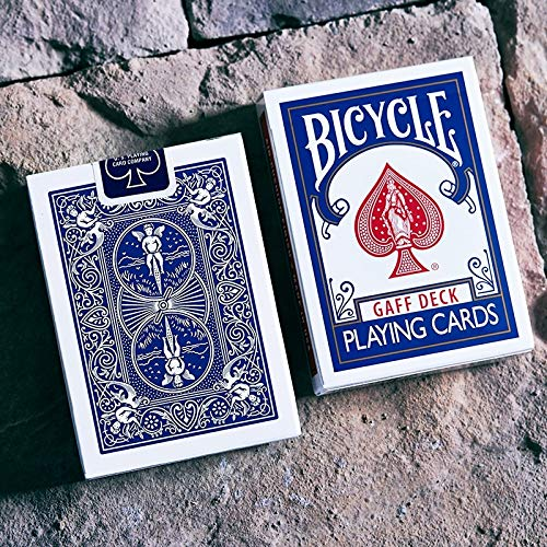 SOLOMAGIA Bicycle Glory Gaff Deck - Blue