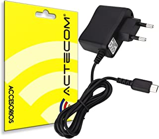 actecom® Cargador ALIMENTADOR DE Red Pared AC Compatible con Nintendo DS Lite