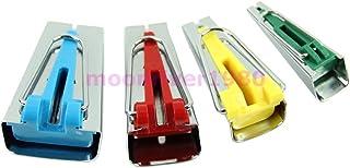 HONEYSEW Bias Tape Maker Set 6MM 12MM 18MM 25MM Sewing Quilting Tools (BTM-4pcs/pack)