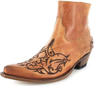 Centro comercial profesional integrado en línea. Sendra botas 7216 - botas De Vaquero Vaquero Vaquero de cuero unisex  100% autentico