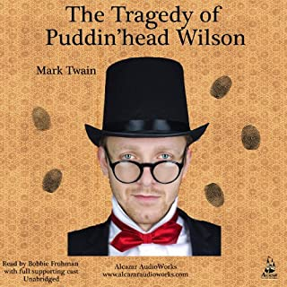 Pudd'nhead Wilson audiobook cover art