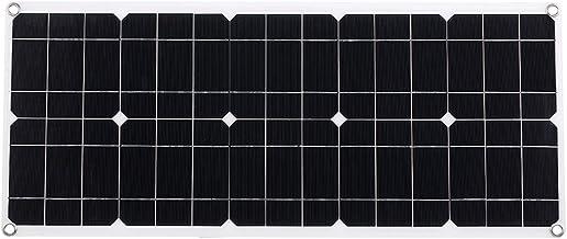 لوحة شمسية 100 وات من مينستياي مع 2 من مجموعات شاحن بطارية سيارة بواجهة USB 100W MHLMAINSTAYAEH29699-2CTSA