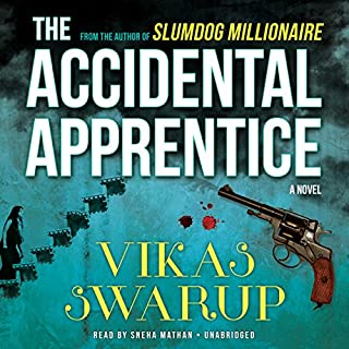 The Accidental Apprentice audiobook cover art