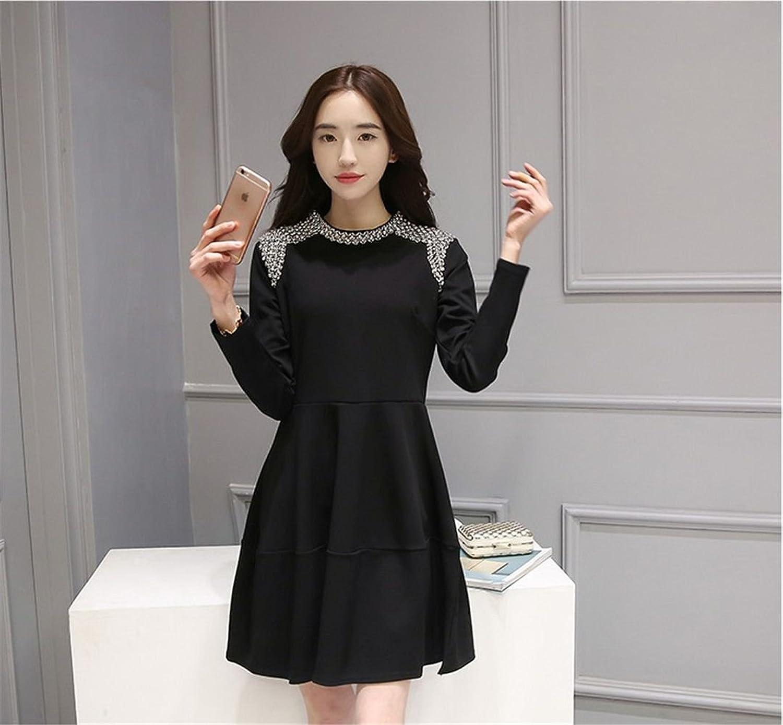2019 Japanese Street Style Sexy neues Retro-Kleid (black)