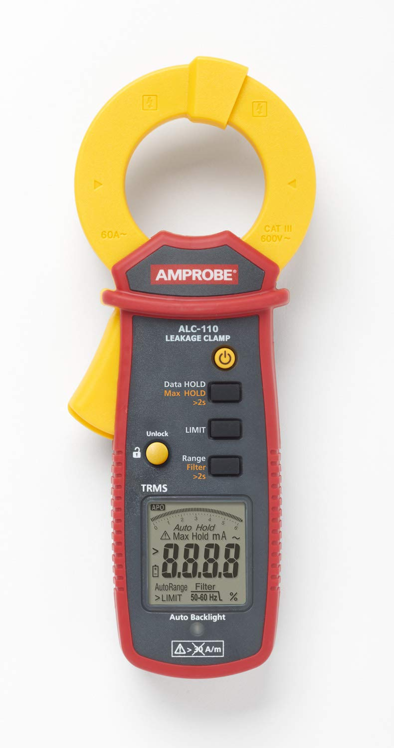 Amprobe ALC-110 True-RMS AC Leakage New Orleans Mall Current Mechanica Clamp with National products