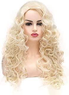 long pale blonde wig