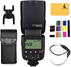 Godox ThinkLite TT600 2.4G Inalámbrico Flash Speedlite Maestro / Esclavo Flash con Construido-en Disparo Sistema para Canon Nikon Pentax Olympus Fujifilm Panasonic (TT600)