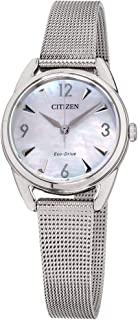 Citizen LTR Mother Of Pearl Dial Stainless Steel Ladies Watch EM0680-53D