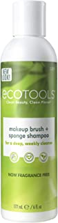 Ecotools Makeup Brush Cleaner Cleansing Shampoo, 6 oz (Packaging May Vary)