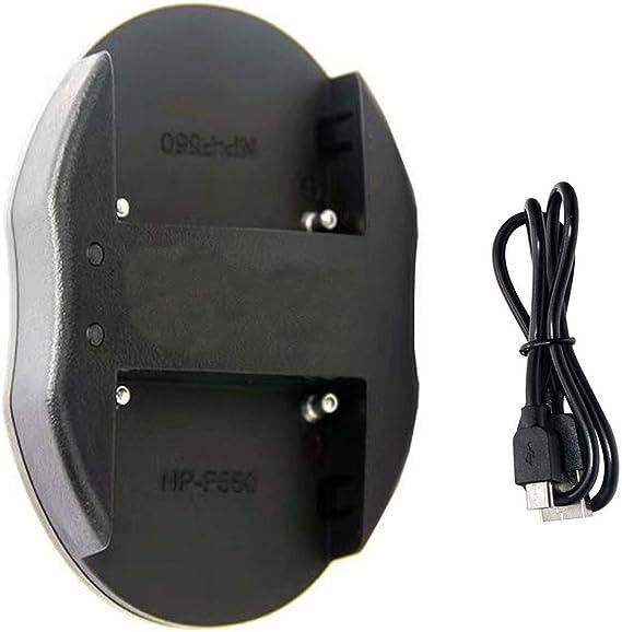 Micro-USB Cargador para Sony DSLR-A 350 H Alpha DSLR-A 350 K DSLR-A 350 X