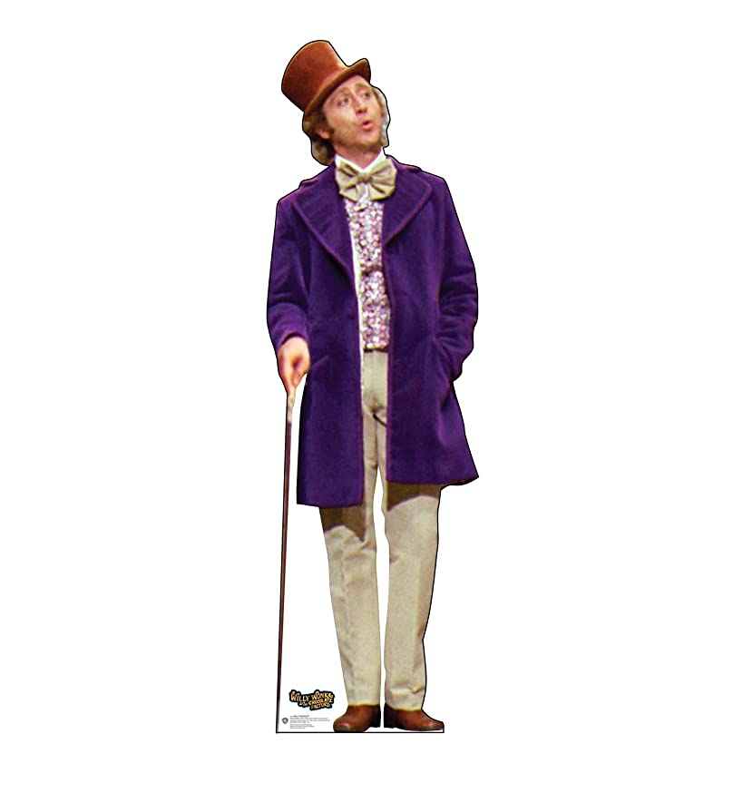 Advanced Graphics Willy Wonka Life Size Cardboard Cutout Standup - Willy Wonka & The Chocolate Factory