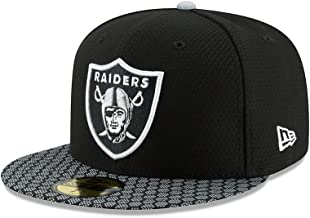 New Era Las Vegas Raiders NFL 17 Sideline 59fifty Fitted Cap Limited Edition