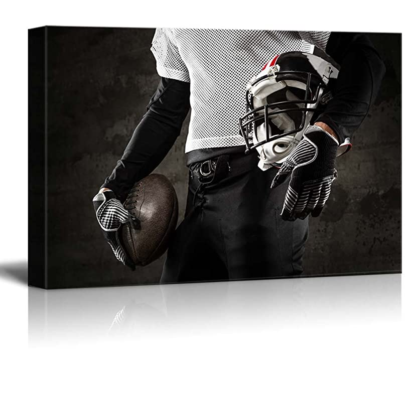 wall26 Canvas Prints Wall Art - American Football Uniform | Modern Wall Decor/Home Decoration Stretched Gallery Canvas Wrap Giclee Print. Ready to Hang - 16