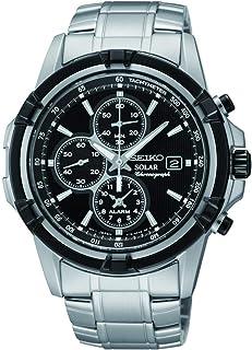 Seiko Orologio Cronografo al Quarzo Uomo con Cinturino in Acciaio Inox SSC147P1