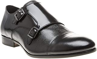 H by Hudson Craigavon Stamp Mens Shoes Black