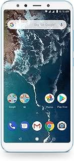 Xiaomi Mi A2 Dual SIM - 128GB, 6GB RAM, 4G LTE, Blue – International Version