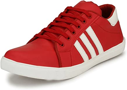 FOX HUNT Closed-Toe Men's Casual Sneaker Lifestyle Shoes - Laced, in Vibrant Colors, Exclusively Designed to Rock Casual outings, Trek