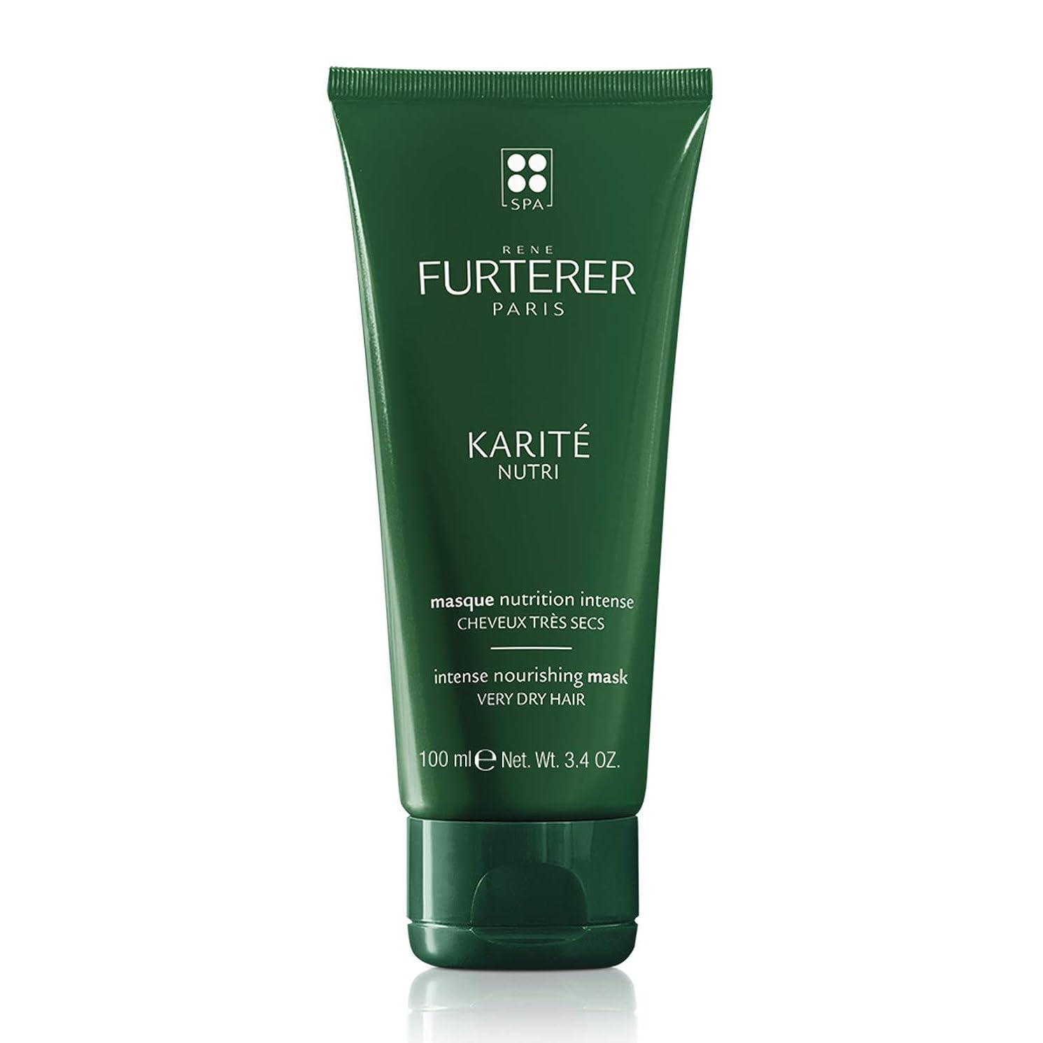 ローマ人結果として華氏ルネ フルトレール Karite Nutri Nourishing Ritual Intense Nourishing Mask (Very Dry Hair) 100ml/3.5oz並行輸入品