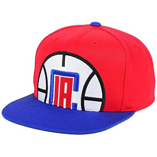 low priced 9ca8f 298a4 Mitchell   Ness NBA Cropped XL Logo Adjustable Snapback Hat