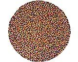 Sukhi Alisha: Redonda: Pinocho Alfombra Multicolor Redondo en Todos los tamaños (envío Gratuito) (70cm / 2' 3.5'')