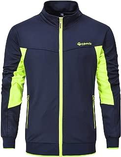 Rdruko Men's Tracksuit Athletic Full Zip Casual Sports Jogging Gym Sweatsuit