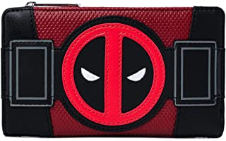 Loungefly x Marvel Deadpool Merc with a Mouth Cosplay Flap Wallet