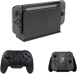 HIDEit Switch - Nintendo Switch Wall Mount and (2) Controller Wall Mounts (Nintendo Switch Bundle) - HIDEit Behind The TV or DISPLAYit - Made in The USA and Trusted Worldwide Since 2009