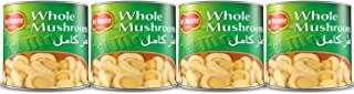 Del Monte Canned Whole Mushrooms, 200 g, GI1500012002, Pack of 4