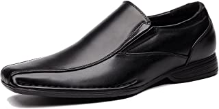 Classic Formal Slip On Leather Lining Modern Loafer Shoes OUOU-004