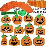 24 Sets Halloween Pumpkin Decoration DIY...