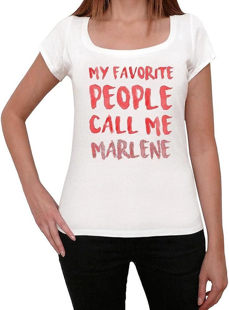 One in the City Marlene Camiseta Mujer Camiseta con Palabra Camiseta Regalo