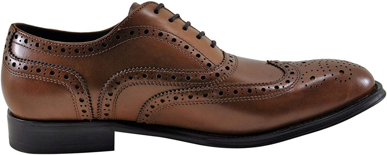 Kenneth Cole Design 10521 Men's Leather Oxford (9, Cognac)