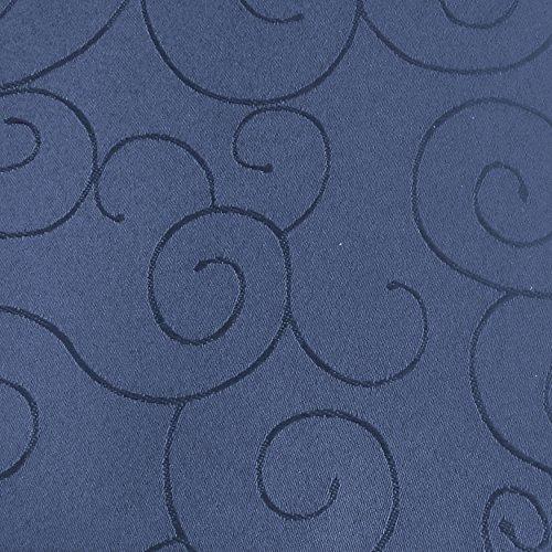 Tafeldecke Paulina Eckig 160x220 cm Dunkelblau Blau - Farbe wählbar · Fleckabweisend Tischdecke