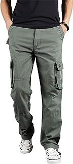 (フシモン)FUSHI&MONカーゴパンツ メンズ 作業着 ズボン ミリタリーパンツ ワークパンツ 多機能 ロングパンツ 大きいサイズ