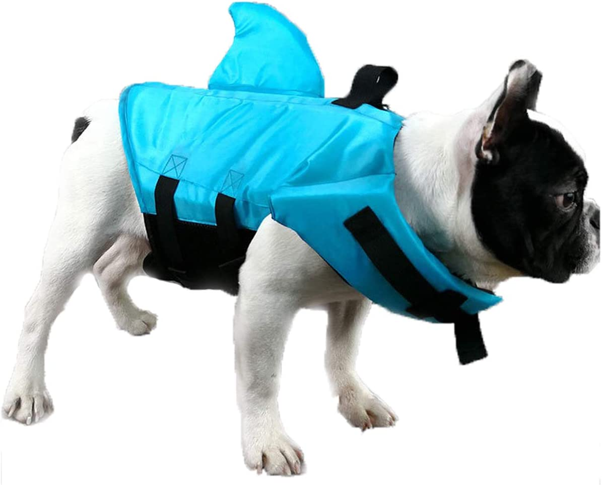 GabeFish Shark Life Jackets for Super Special SALE held Swimwear Dogs Orange Blue Ranking TOP19