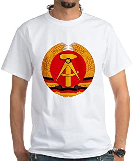East German Coat of Arms White Cotton T-Shirt