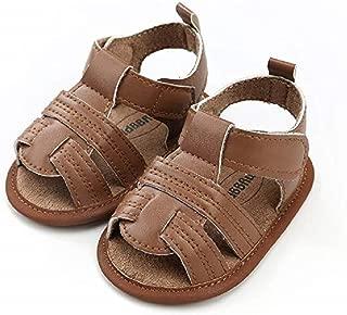 baby boy brown sandals
