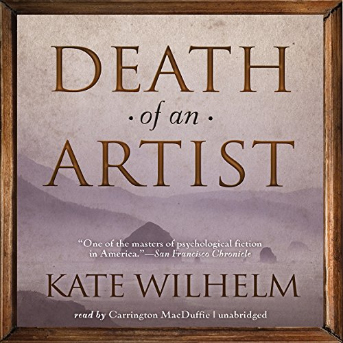 Death of an Artist audiobook cover art