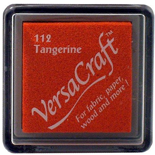 VersaCraft vks-112Stempel Stoff, kleiner Cube 25x 25mm mandarine