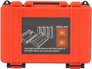 Deryang Capa de bateria portátil à prova de poeira, caixa de cartão de memória, para fotógrafo, cartão de memória, uso de ...